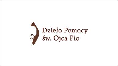 Logotyp Dzieło Pomocy św. Ojca Pio